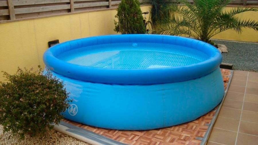 Peligro piscinas hinchables
