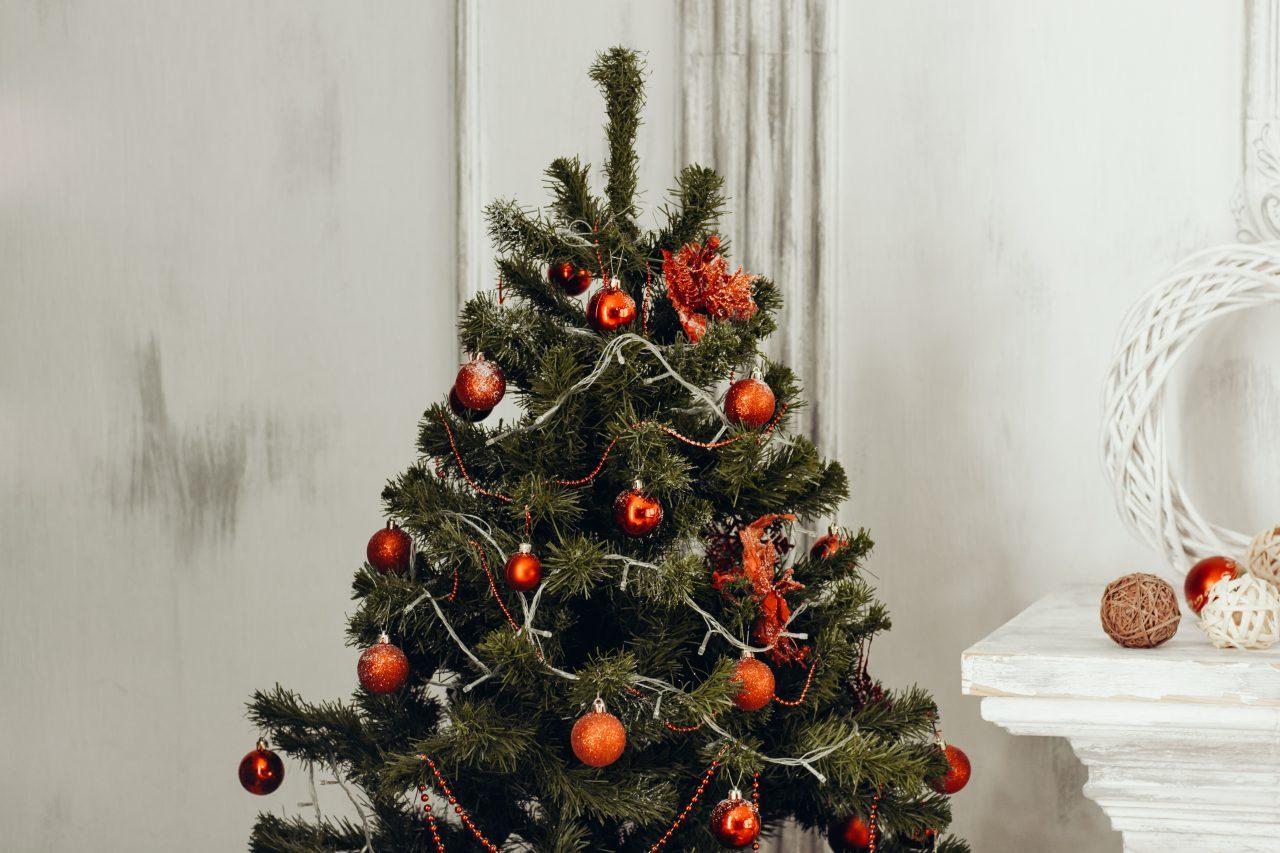 Decora tu portal en Navidad.